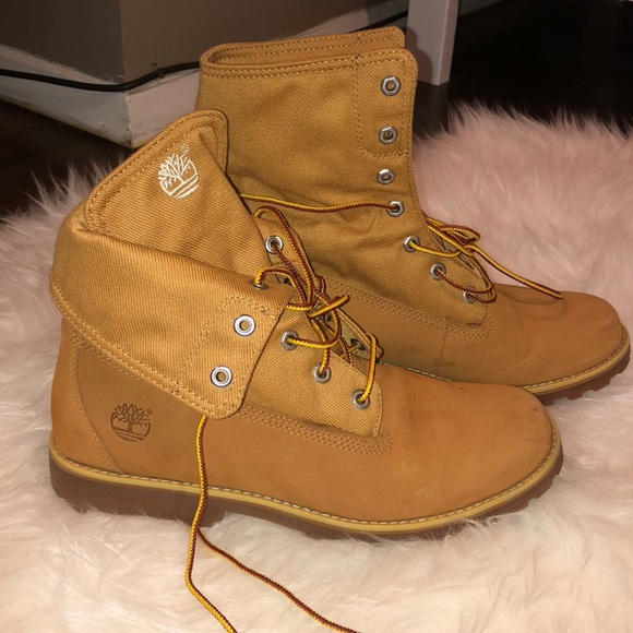 d18c04a51f246 Timberland Shoes | Soldkids Wheat Fold Down Boots | Poshmark